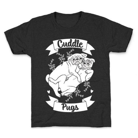 Cuddle Pugs Kids T-Shirt