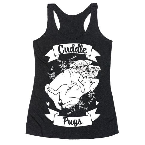 Cuddle Pugs Racerback Tank Top