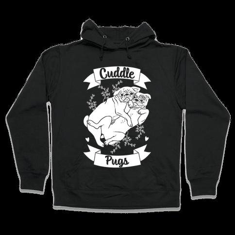 Cuddle Pugs Hooded Sweatshirt