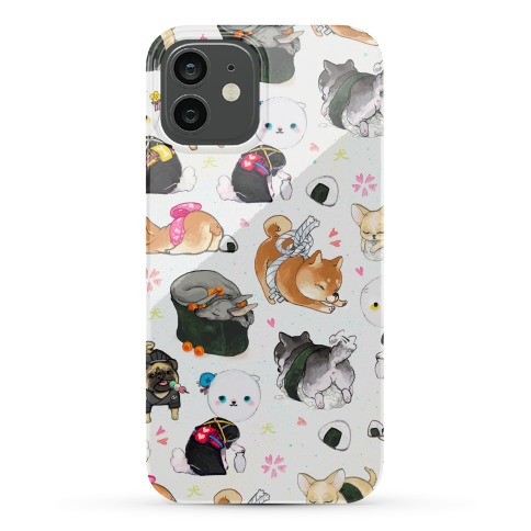 Japanese Dogs Phone Case