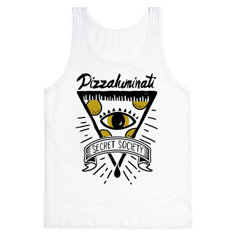 Pizzaluminati Secret Society Tank Top
