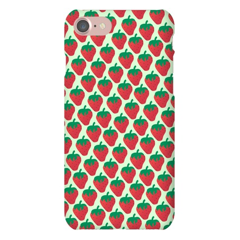 Strawberry Pattern Phone Case