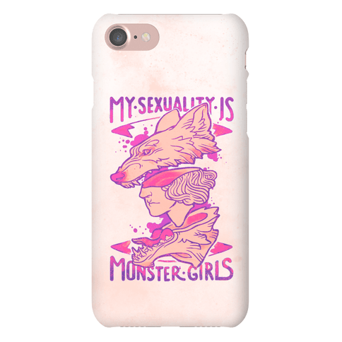 My Sexuality Is Monster Girls Phone Case