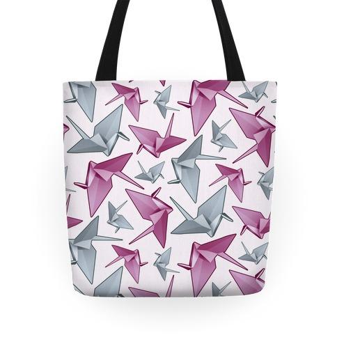 Origami Paper Crane Tote