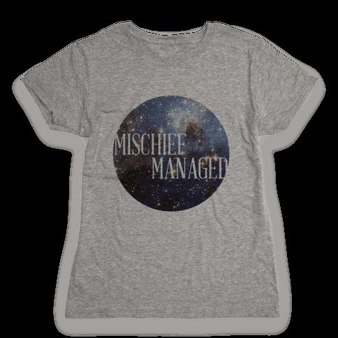 Marauders Tanks (Mischief Managed) Womens T-Shirt