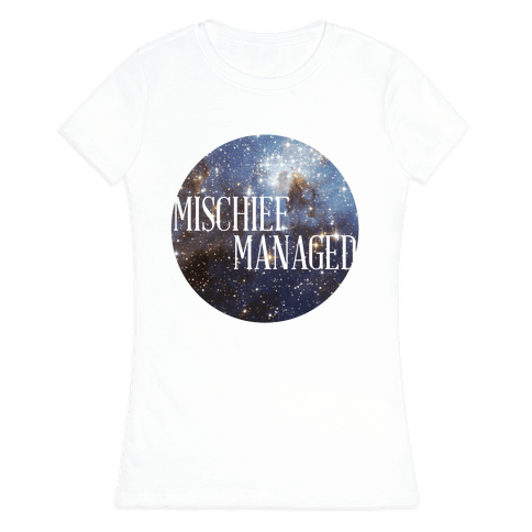 Marauders Tanks (Mischief Managed) Womens T-Shirt