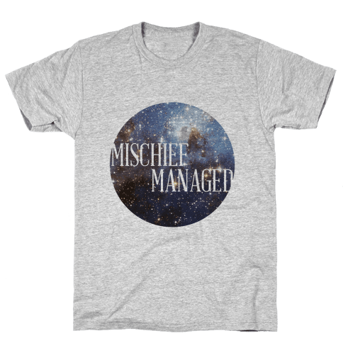Marauders Tanks (Mischief Managed) Mens T-Shirt