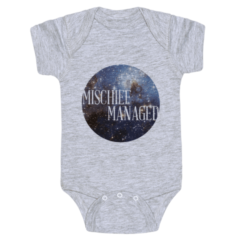 Marauders Tanks (Mischief Managed) Baby Onesy