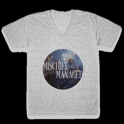 Marauders Tanks (Mischief Managed) V-Neck Tee Shirt