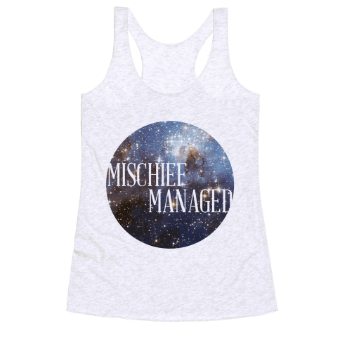 Marauders Tanks (Mischief Managed) Racerback Tank Top