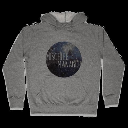 Marauders Tanks (Mischief Managed) Hooded Sweatshirt