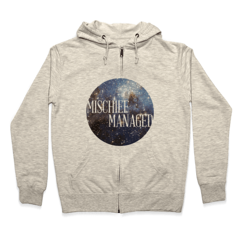 Marauders Tanks (Mischief Managed) Zip Hoodie