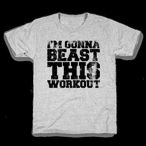 I'm gonna beast this Kids T-Shirt