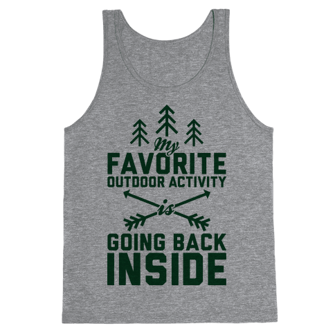 Outdoor Activity Tank Top