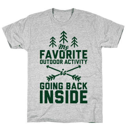 Outdoor Activity Mens T-Shirt