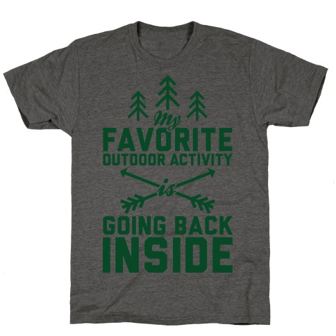 Outdoor Activity T-Shirt