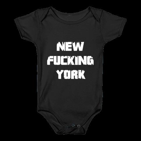 New F***ing York Baby Onesy