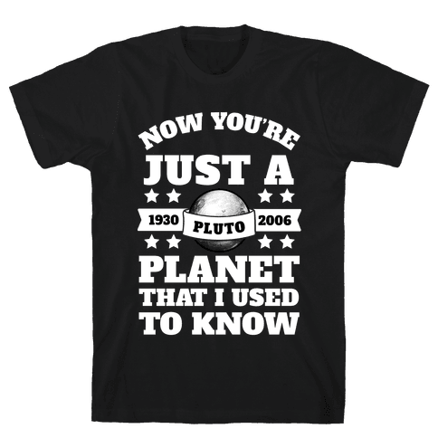 Pluto Just a Planet that I Used to Know