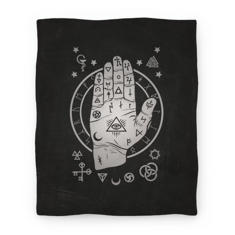 Occult Hand Blanket