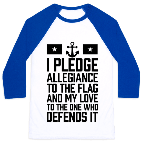 I Pledge Allegiance To The Flag (Navy)