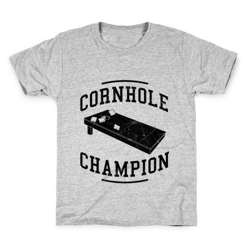 Cornhole Champion Kids T-Shirt