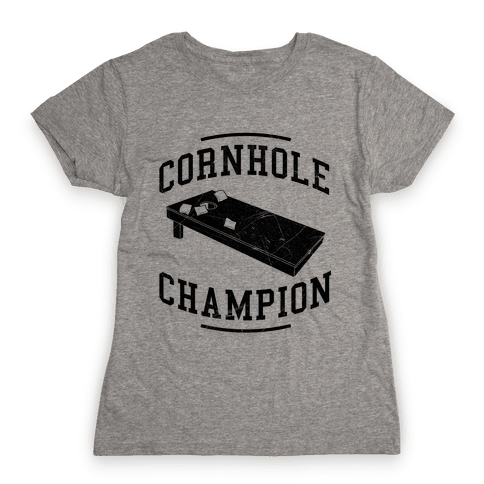 Cornhole Champion Womens T-Shirt