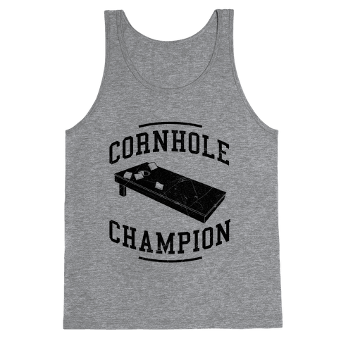 Cornhole Champion Tank Top