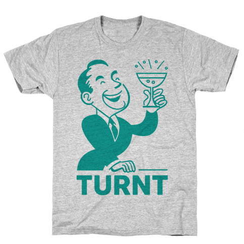 Turnt Gentleman Mens T-Shirt