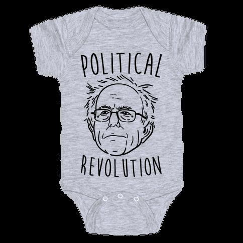 Bernie Political Revolution Baby Onesy