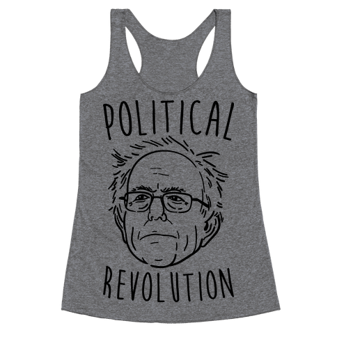 Bernie Political Revolution Racerback Tank Top