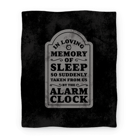 In Memory of Sleep