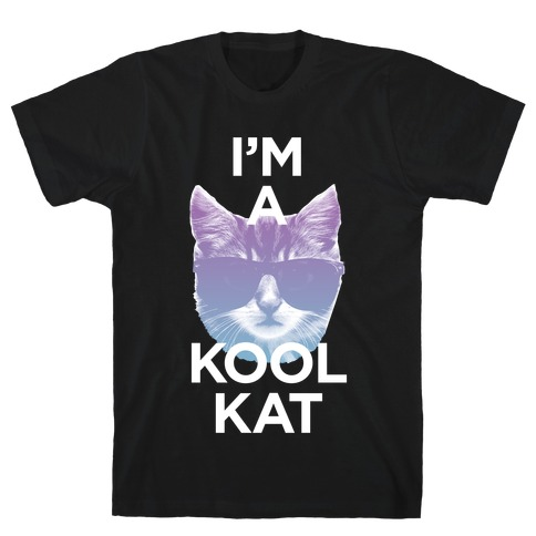 I'm A Kool Cat Mens T-Shirt