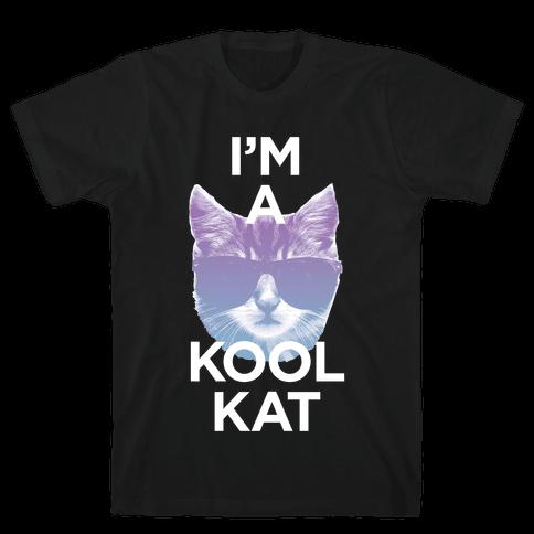 I'm A Kool Cat Mens T-Shirt