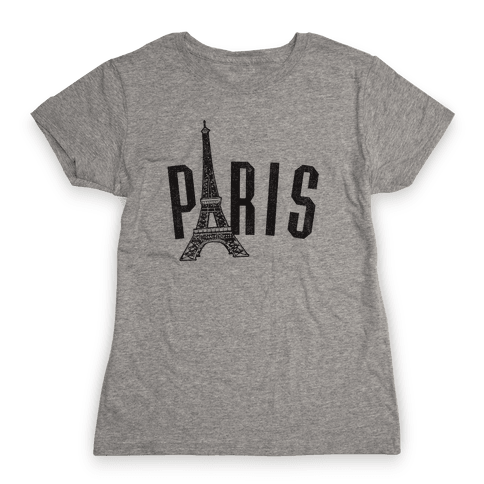 Paris (vintage) Womens T-Shirt