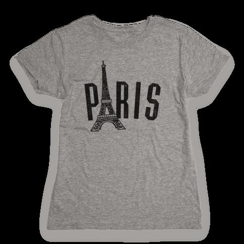 Paris (vintage) Womens T-Shirt
