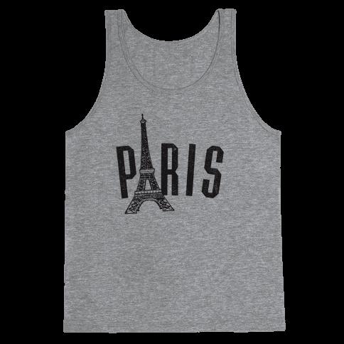 Paris (vintage) Tank Top