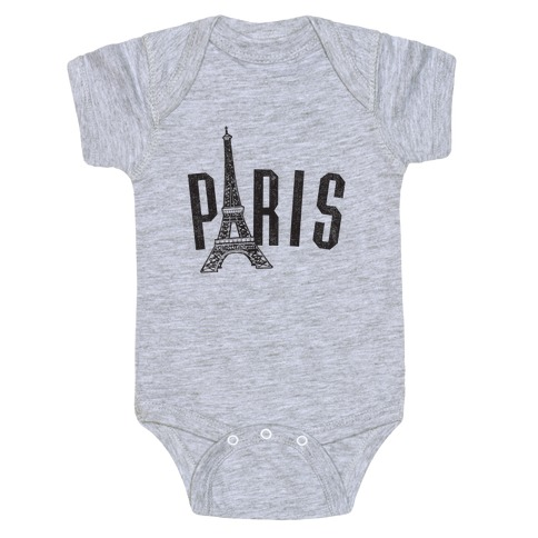 Paris (vintage) Baby Onesy