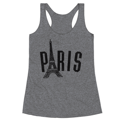Paris (vintage) Racerback Tank Top