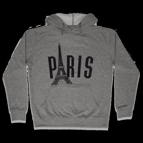 Paris (vintage) Hooded Sweatshirt