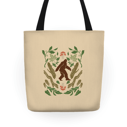 Sasquatch Sighting Tote