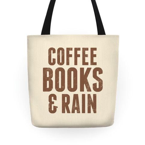 Coffee Books & Rain Tote