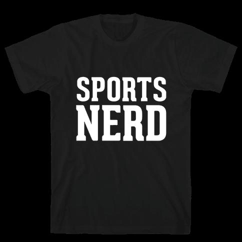 Sports Nerd Mens T-Shirt