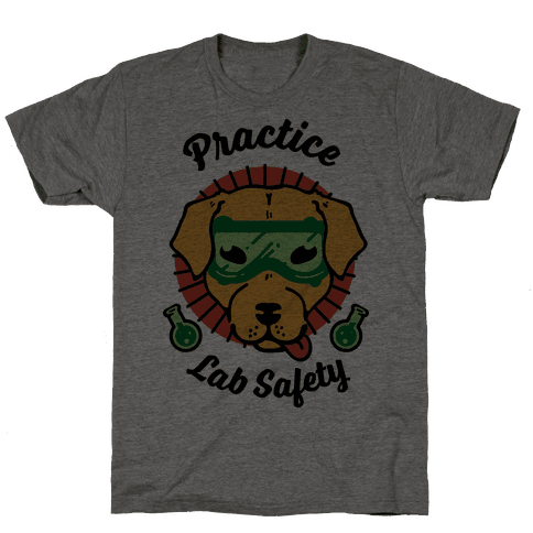 Practice Lab Safety Mens T-Shirt