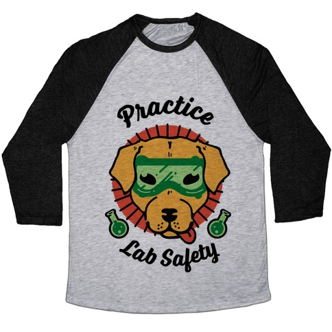 Practice Lab Safety Baseball Tee