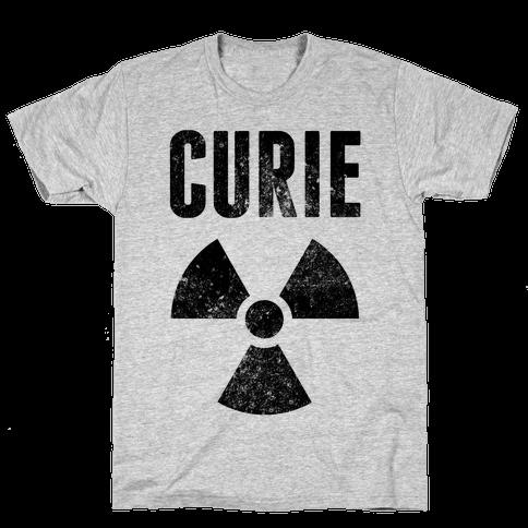 Curie Mens T-Shirt