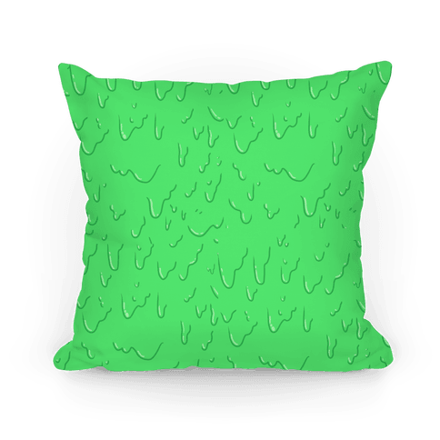Green Slime Pillow Pillow
