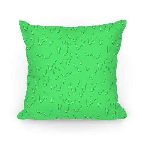 Green Slime Pillow