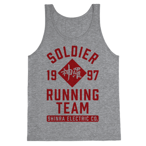 Soldier Running Team Tank Top