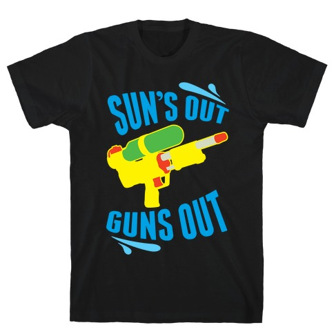 Suns Out, Guns Out Mens T-Shirt