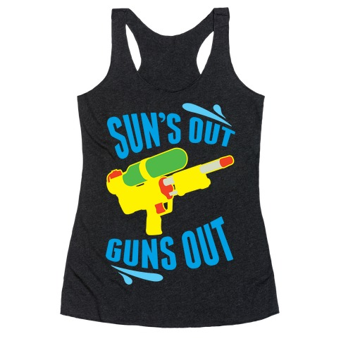 Suns Out, Guns Out Racerback Tank Top